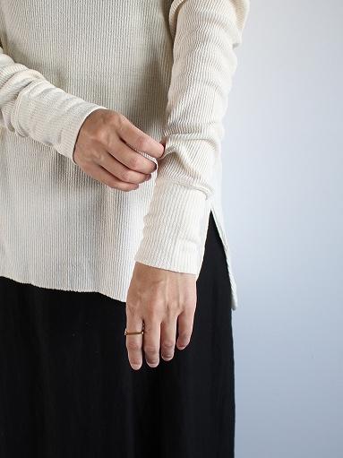 unfil raw silk ribbed-jersey long-sleeve tee_b0139281_21342990.jpg