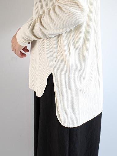 unfil raw silk ribbed-jersey long-sleeve tee_b0139281_21344794.jpg