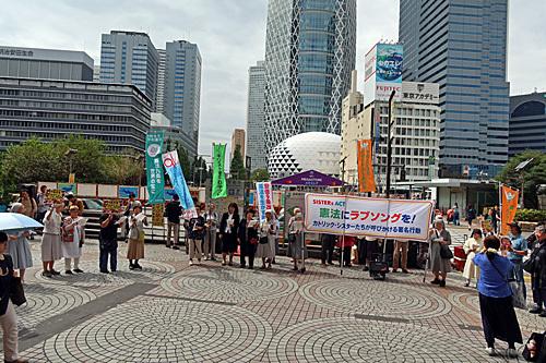 憲法にラブソングを! 新宿西口意思表示_a0188487_23260982.jpg