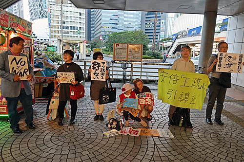 憲法にラブソングを! 新宿西口意思表示_a0188487_23262791.jpg