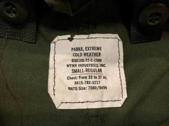 9月21日(土)マグネッツ大阪店スーペリア入荷!!#1 U.S.Military Part1編!!FishtailParka&NOS M-65 Trouser, JungleFatigue!!_c0078587_13171964.jpg