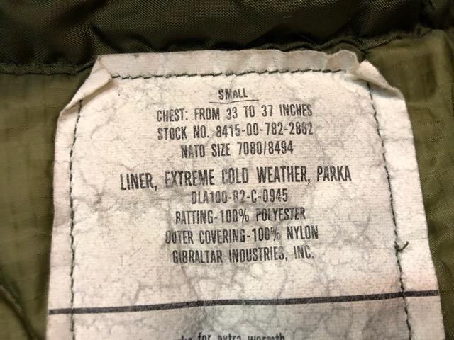 9月21日(土)マグネッツ大阪店スーペリア入荷!!#1 U.S.Military Part1編!!FishtailParka&NOS M-65 Trouser, JungleFatigue!!_c0078587_13175596.jpg