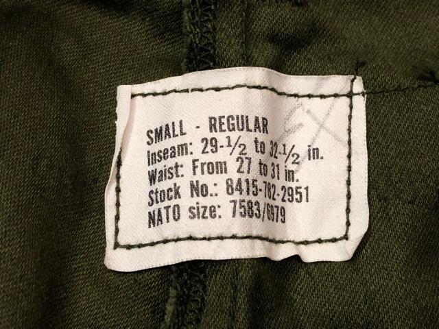 9月21日(土)マグネッツ大阪店スーペリア入荷!!#1 U.S.Military Part1編!!FishtailParka&NOS M-65 Trouser, JungleFatigue!!_c0078587_13244935.jpg