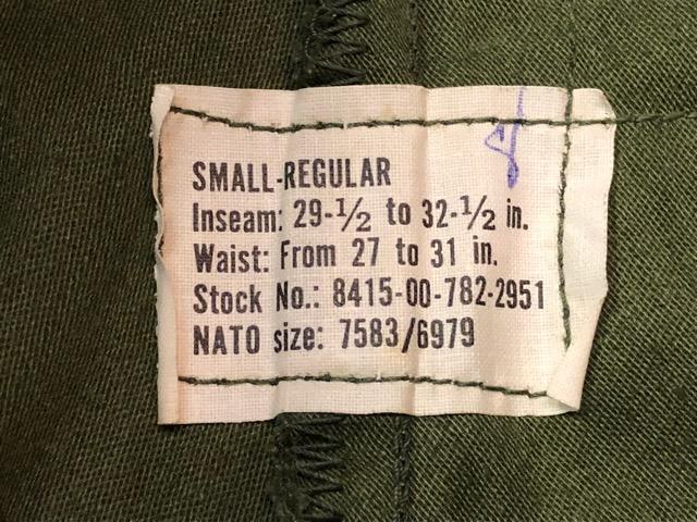 9月21日(土)マグネッツ大阪店スーペリア入荷!!#1 U.S.Military Part1編!!FishtailParka&NOS M-65 Trouser, JungleFatigue!!_c0078587_13253367.jpg