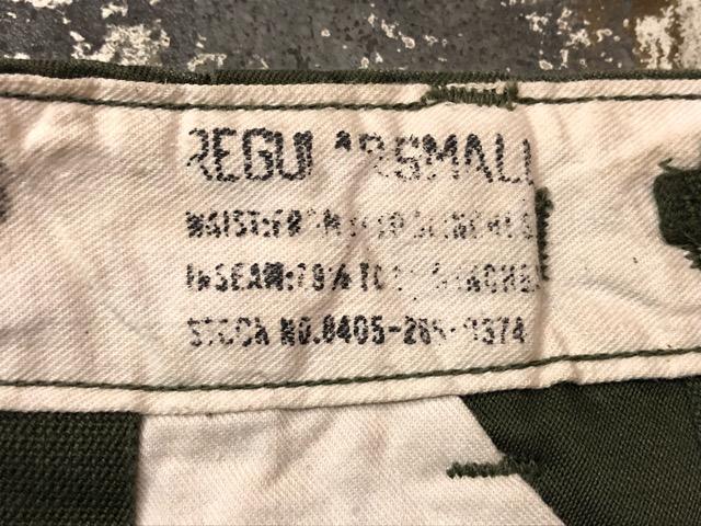 9月21日(土)マグネッツ大阪店スーペリア入荷!!#1 U.S.Military Part1編!!FishtailParka&NOS M-65 Trouser, JungleFatigue!!_c0078587_13291667.jpg