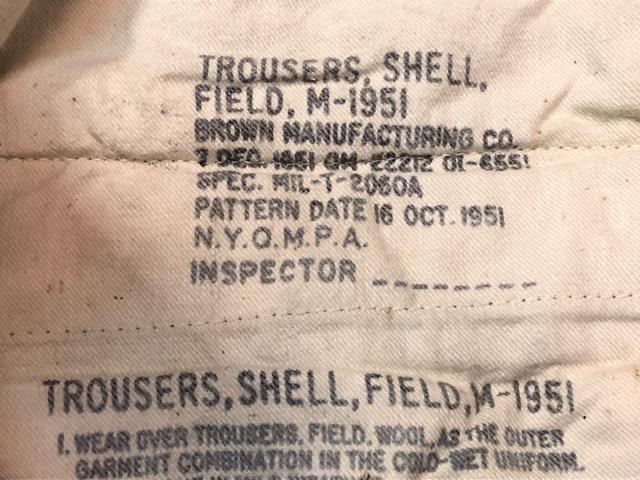 9月21日(土)マグネッツ大阪店スーペリア入荷!!#1 U.S.Military Part1編!!FishtailParka&NOS M-65 Trouser, JungleFatigue!!_c0078587_13304146.jpg