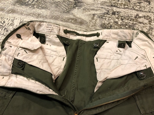9月21日(土)マグネッツ大阪店スーペリア入荷!!#1 U.S.Military Part1編!!FishtailParka&NOS M-65 Trouser, JungleFatigue!!_c0078587_1333033.jpg