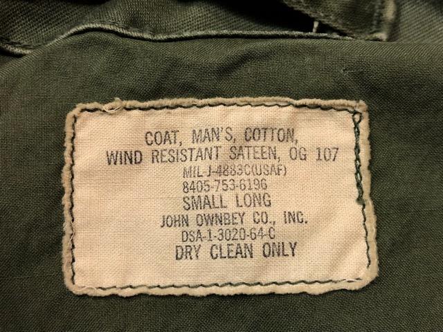 9月21日(土)マグネッツ大阪店スーペリア入荷!!#1 U.S.Military Part1編!!FishtailParka&NOS M-65 Trouser, JungleFatigue!!_c0078587_1533317.jpg