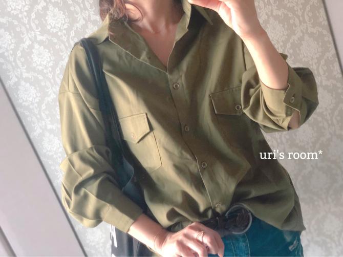 着心地バツグン、秋を感じるシャツ(´∀`)それから…今夜からお買い物マラソン! - uri's room* 心地よくて美味しい暮らし