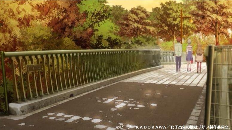 「女子高生の無駄づかい」舞台探訪009 第9話「おしゃれ」より_e0304702_20174982.jpg