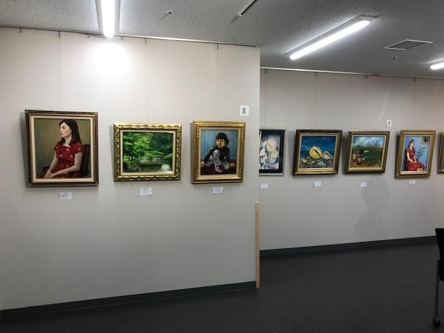 第19回絵画サークルパレット展が始まりました。_b0129807_17330631.jpeg
