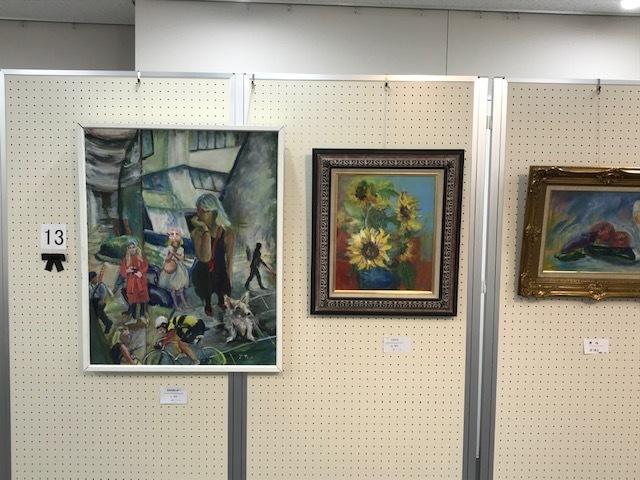 第19回絵画サークルパレット展が始まりました。_b0129807_17332334.jpeg