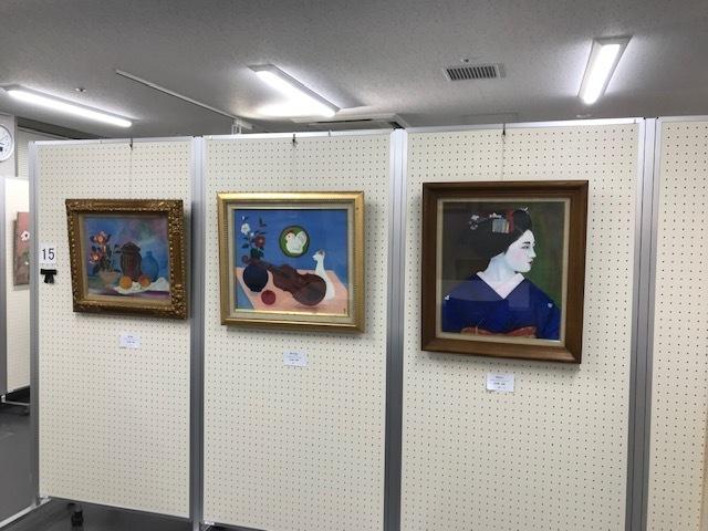 第19回絵画サークルパレット展が始まりました。_b0129807_17335012.jpeg
