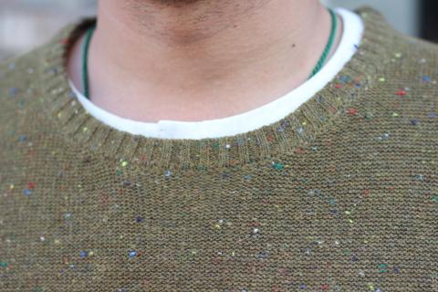 """「dip」 コーディネートが楽しくなる \""""Knit Vest\"""" ご紹介_f0191324_08053396.jpg"""