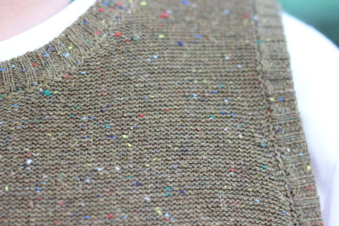 """「dip」 コーディネートが楽しくなる \""""Knit Vest\"""" ご紹介_f0191324_08054450.jpg"""