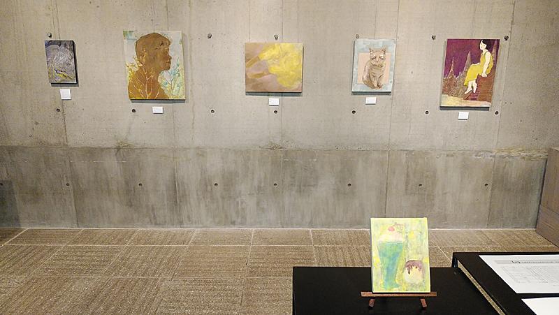 広島市立大学日本画専攻有志展、明後日まで_b0165562_12290591.jpg