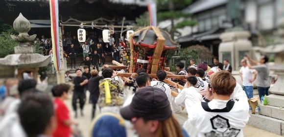 【二神です】三津口のお祭り!神山神社大祭!!_e0175370_18393369.jpg