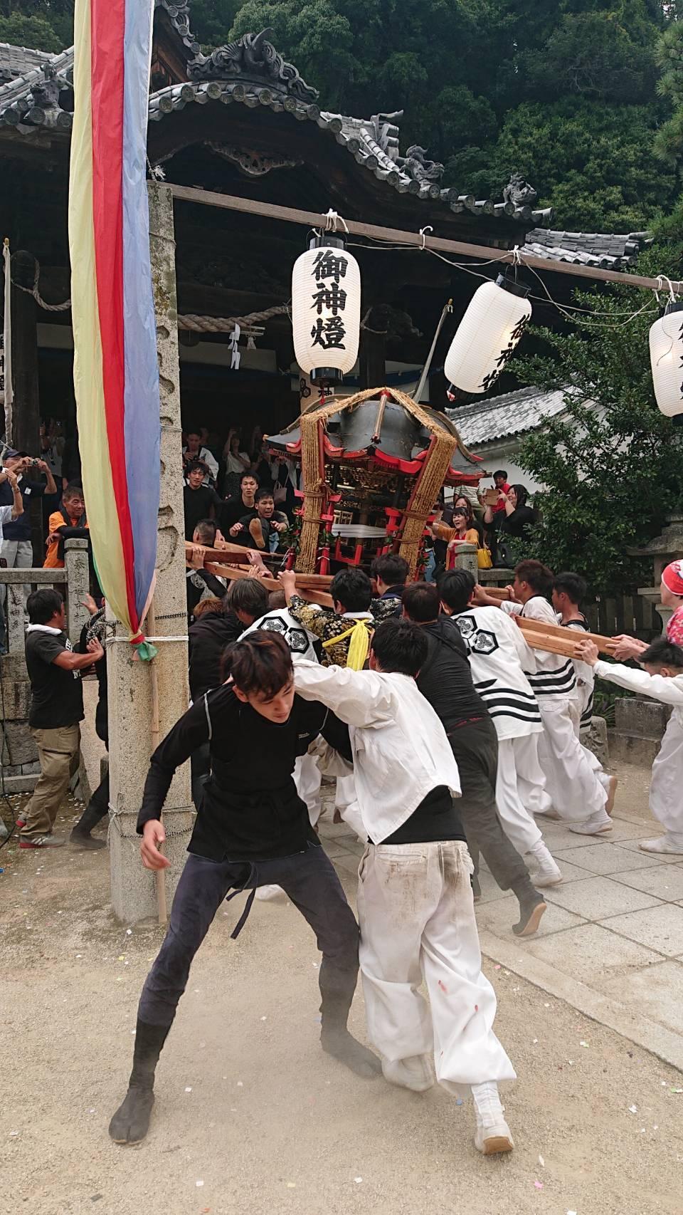 【二神です】三津口のお祭り!神山神社大祭!!_e0175370_18405881.jpg