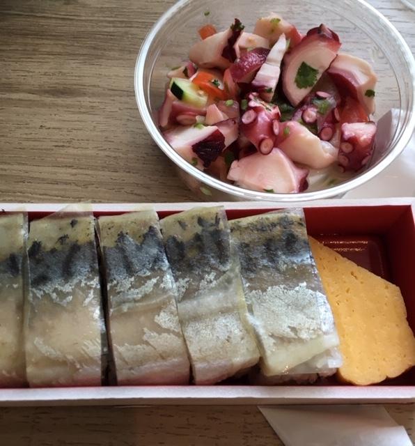 最近の日本食ーバッテラ、ウニ・サーモン丼、手延べ素麵_e0350971_08044448.jpg