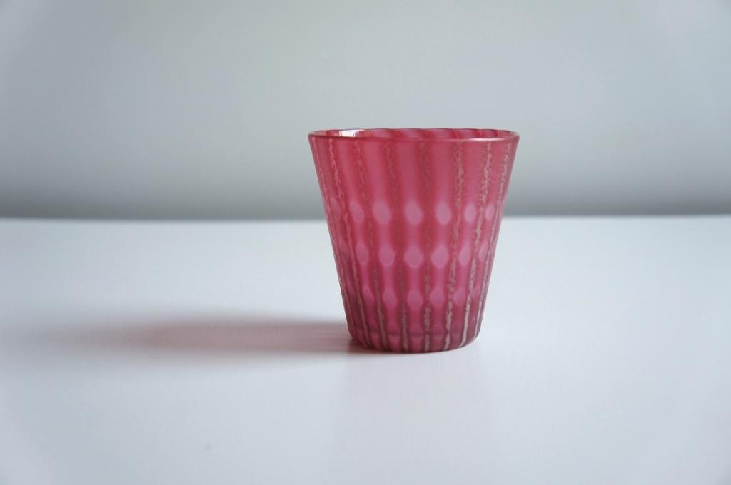 artifex展 佐々木俊仁さんの美しき赤いグラス_b0353974_23301618.jpg