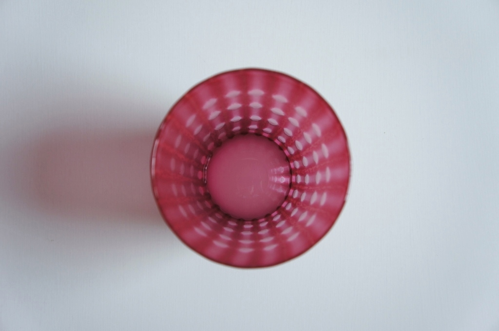 artifex展 佐々木俊仁さんの美しき赤いグラス_b0353974_23302808.jpg