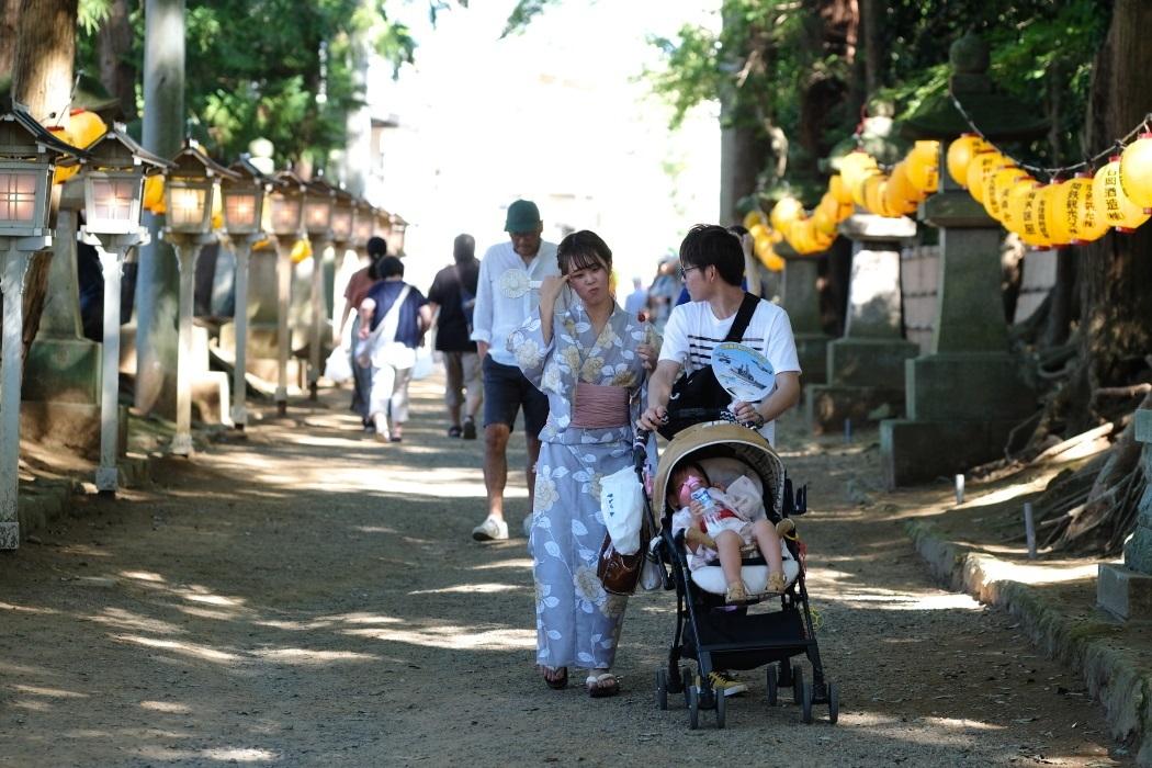 2019年 石岡の祭り <7> 参道にて 9月15日_e0143883_05093141.jpg