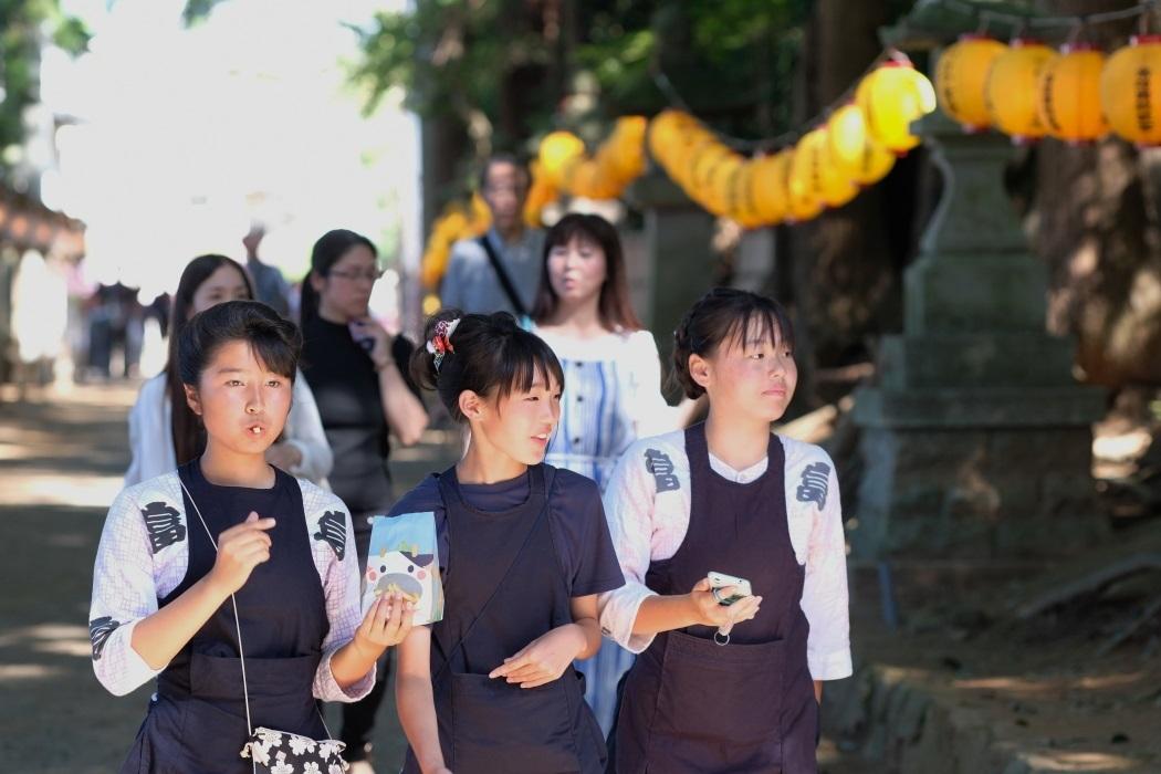 2019年 石岡の祭り <7> 参道にて 9月15日_e0143883_05095384.jpg