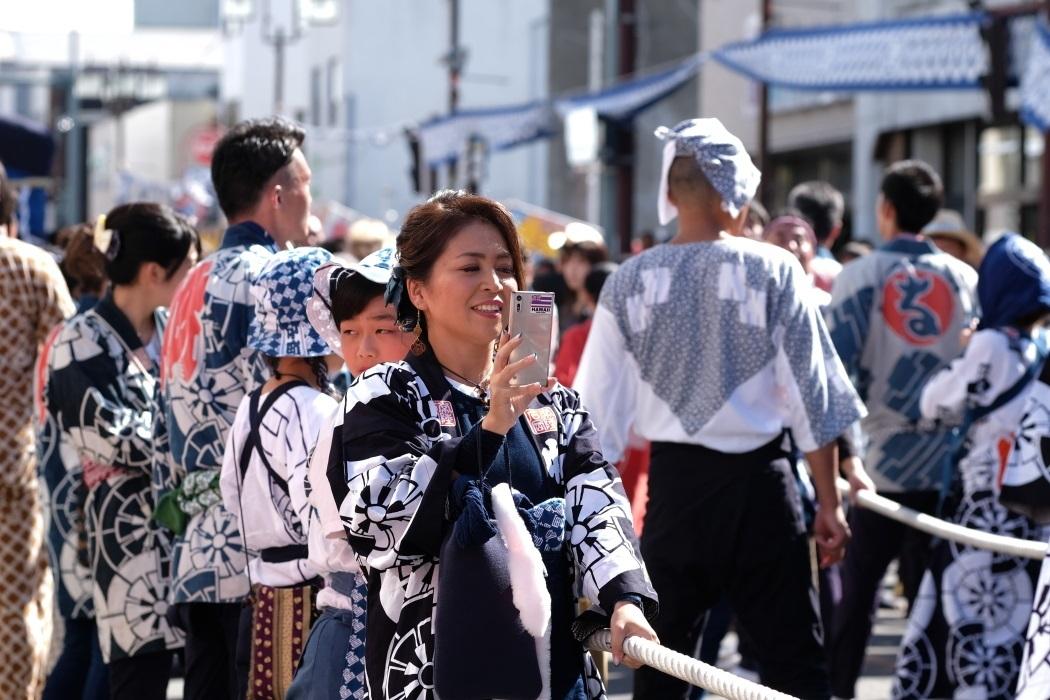 2019年 石岡の祭り <8> お祭りギャル 9月15日_e0143883_18025678.jpg