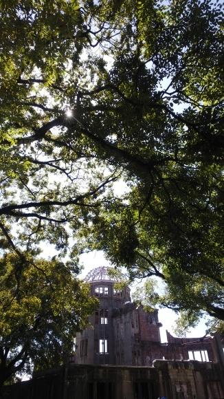 木漏れ日の中のドーム_a0242884_18030283.jpg