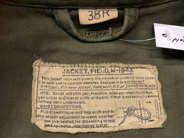 9月21日(土)マグネッツ大阪店スーペリア入荷!!#8 U.S.Military Part3 フィールドジャケット編!! M-1943 & M-1965!!_c0078587_1836337.jpg