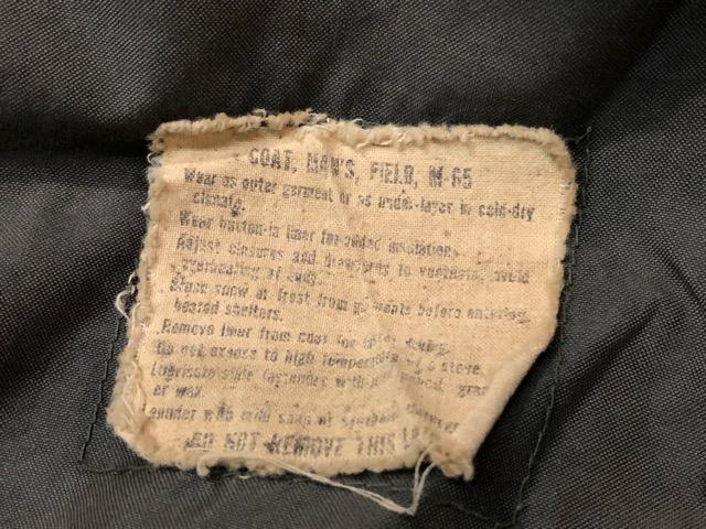 9月21日(土)マグネッツ大阪店スーペリア入荷!!#8 U.S.Military Part3 フィールドジャケット編!! M-1943 & M-1965!!_c0078587_18421135.jpg