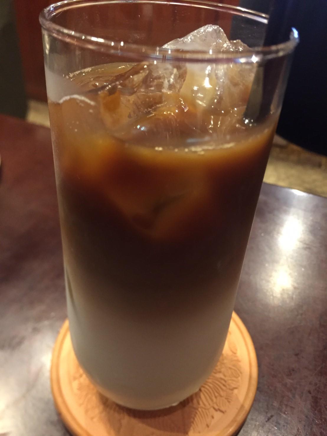 喫茶 1er ぷるみえ (シンプルバターライスに揚げカボチャと豚そぼろの和風あんかけ)_e0115904_21170549.jpg