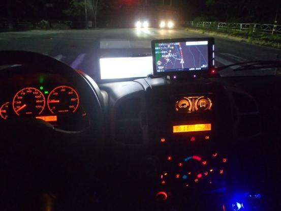 久しぶりにカタツムリ号の夜のドライブ_f0064906_14335497.jpg