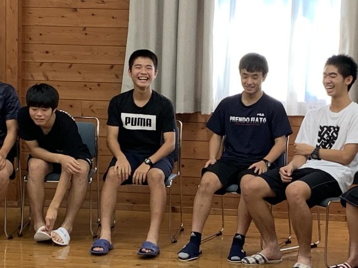 8月の中3福岡県模試の結果と、中3の中間テスト。そしていつまでもネタが尽きない夏合宿の写真。_d0116009_09282480.jpg