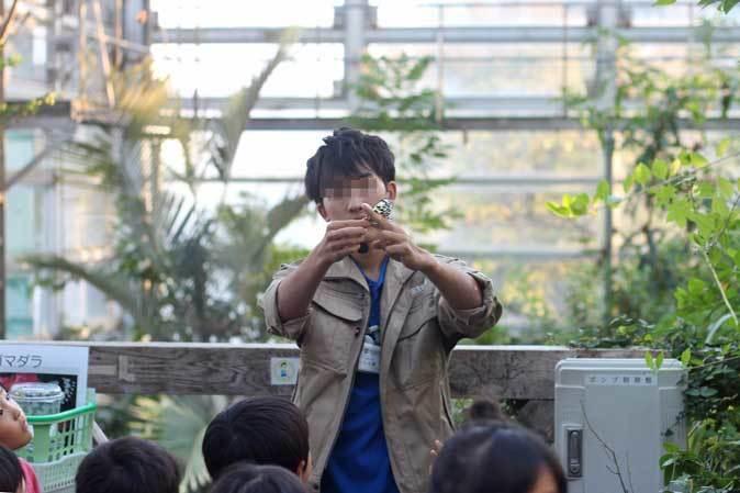 足立区生物園~宇宙メダカと蝶が舞う大温室_b0355317_22281614.jpg
