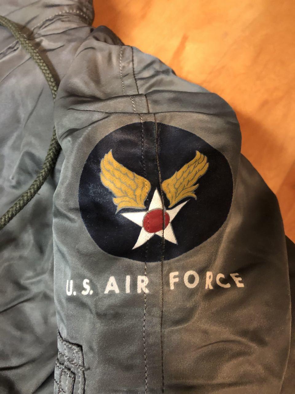 アメリカ仕入れ情報#27 50s U.S.A.F  デカール入り   N-2B フライトジャケット! _c0144020_13251815.jpg