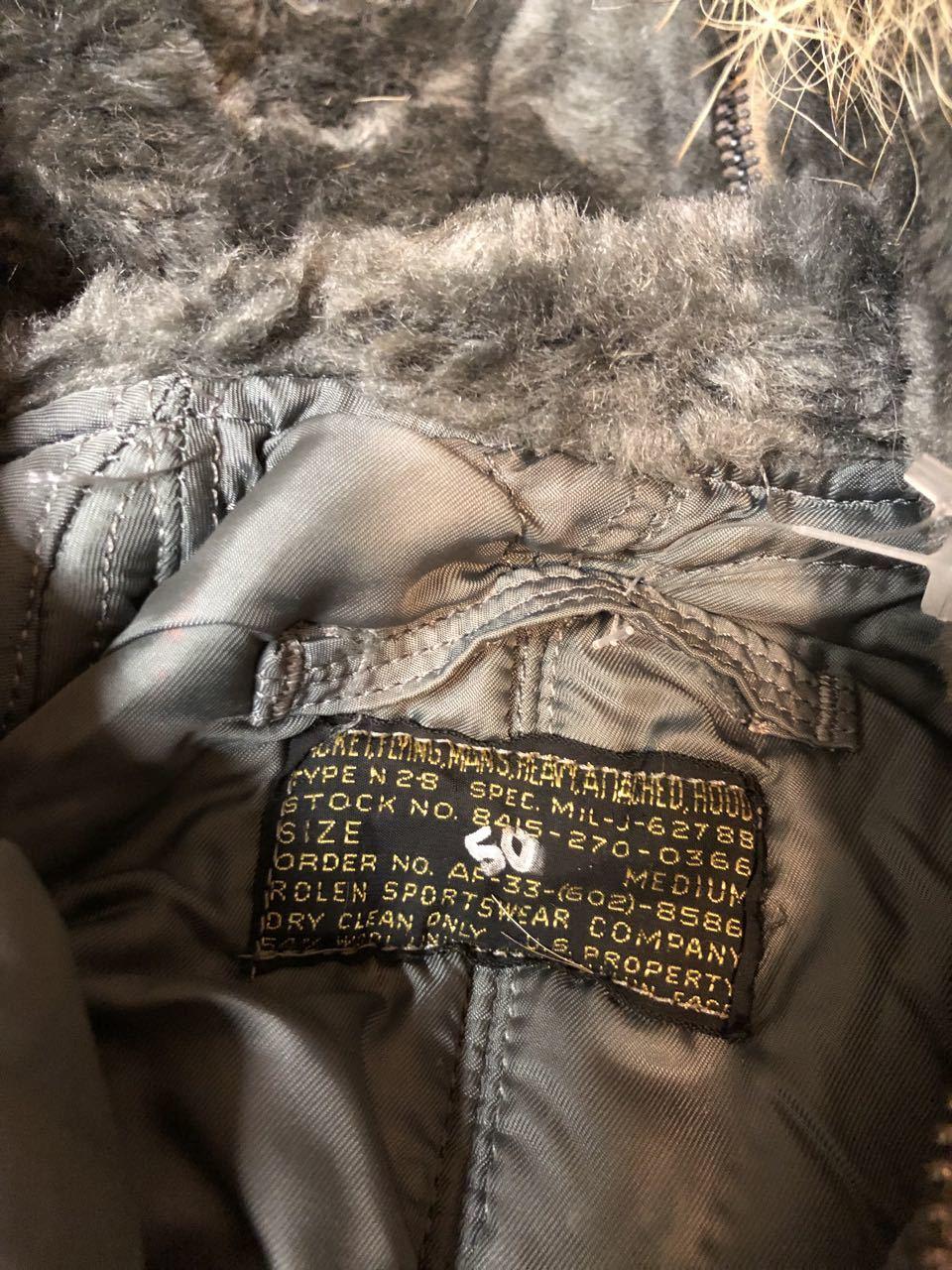 アメリカ仕入れ情報#27 50s U.S.A.F  デカール入り   N-2B フライトジャケット! _c0144020_13252077.jpg