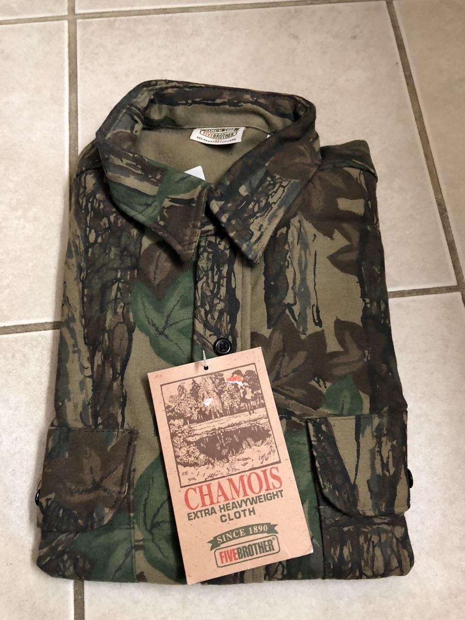 アメリカ仕入れ情報#30 90s デッドストック FIVE BROTHERS all cotton シャモアクロス ネルシャツ!_c0144020_14114485.jpg