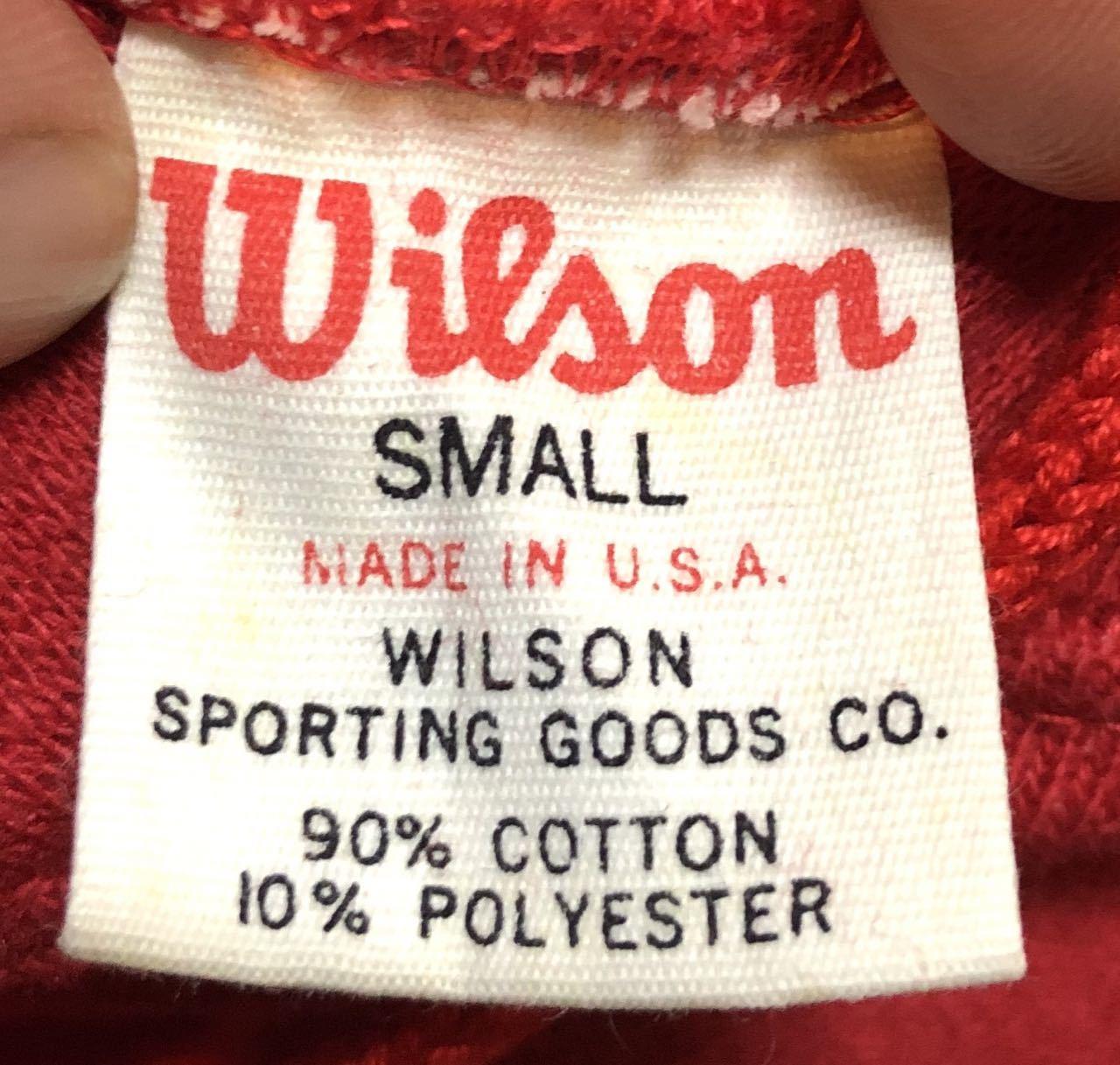 アメリカ仕入れ情報#31 60s〜デッドストック N.O.S WILSON SWEAT HOODIE パーカー!_c0144020_14234970.jpg