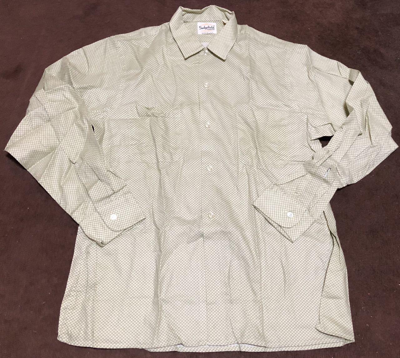 アメリカ仕入れ情報#32 デッドストック 60s all cotton  Sedgefield by BLUE BELL シャツ!_c0144020_14571649.jpg