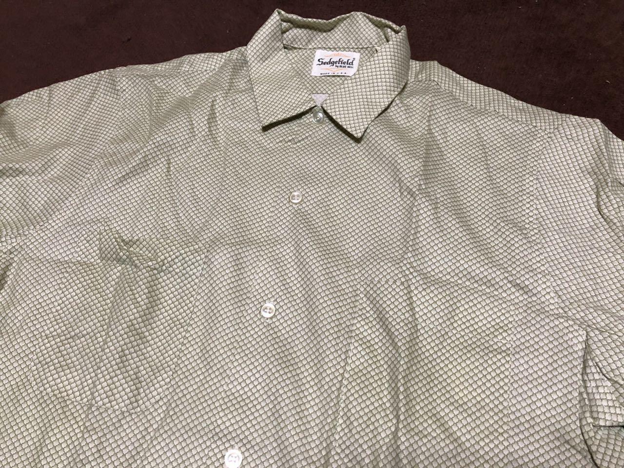 アメリカ仕入れ情報#32 デッドストック 60s all cotton  Sedgefield by BLUE BELL シャツ!_c0144020_14571936.jpg