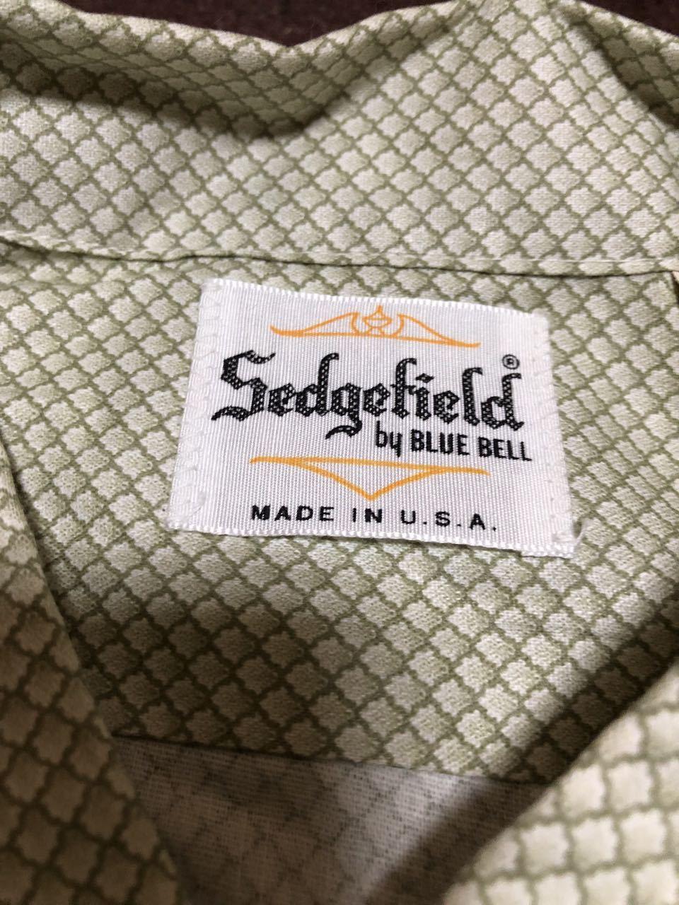 アメリカ仕入れ情報#32 デッドストック 60s all cotton  Sedgefield by BLUE BELL シャツ!_c0144020_14572200.jpg