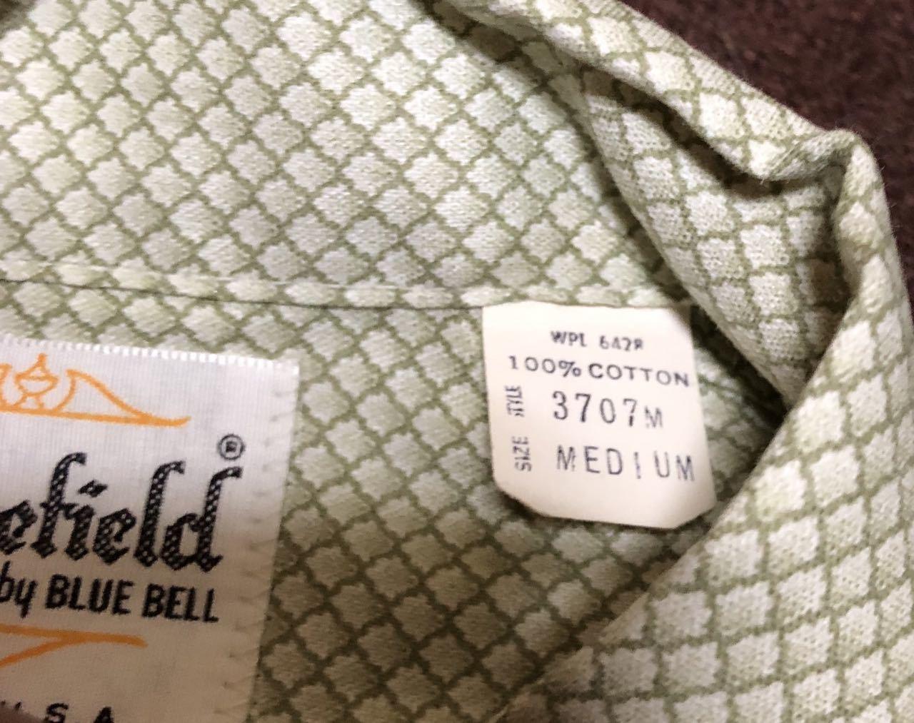 アメリカ仕入れ情報#32 デッドストック 60s all cotton  Sedgefield by BLUE BELL シャツ!_c0144020_14572411.jpg