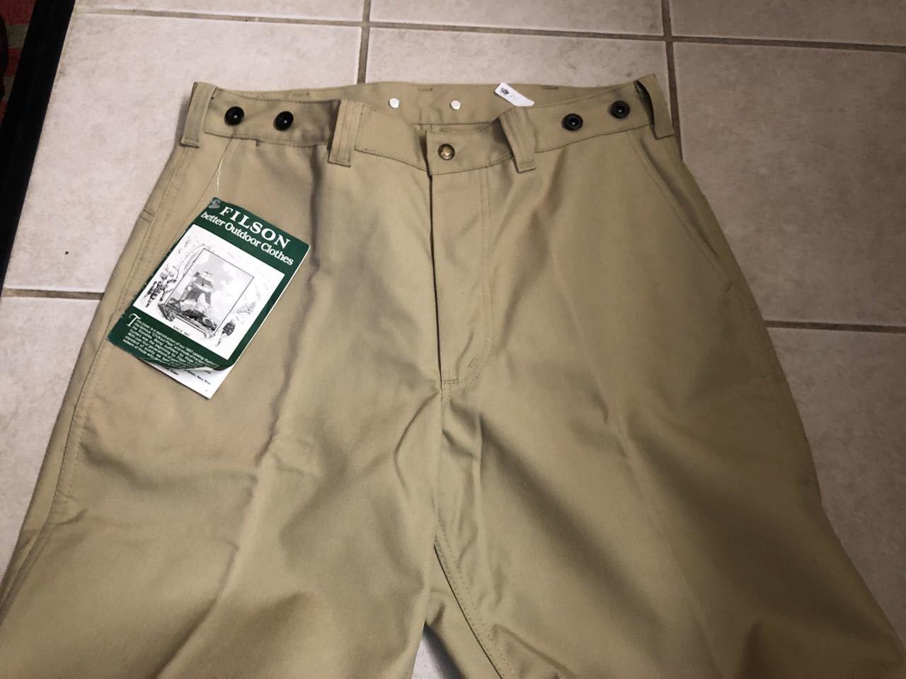 アメリカ仕入れ情報#33 デッドストック 80s FILSON  HUNTING PANTS !_c0144020_15230429.jpg