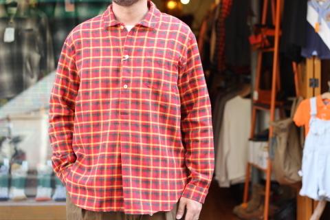 "「dip」在りそうでない \""Pullover Shirt\"" ご紹介_f0191324_07373151.jpg"