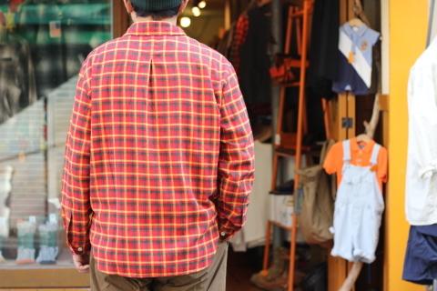 "「dip」在りそうでない \""Pullover Shirt\"" ご紹介_f0191324_07380300.jpg"