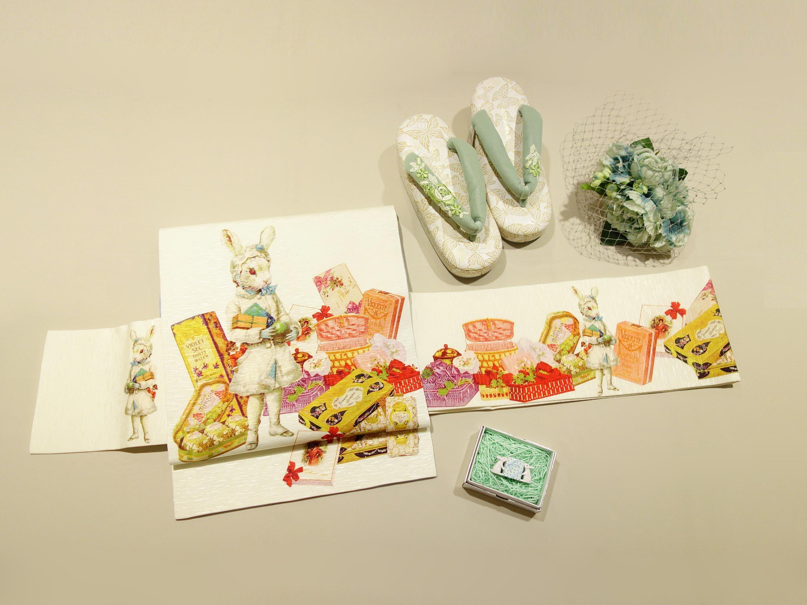 名古屋帯「プレゼント・ラヴィ」・「トランプ」再入荷です♪_e0167832_20303586.jpg