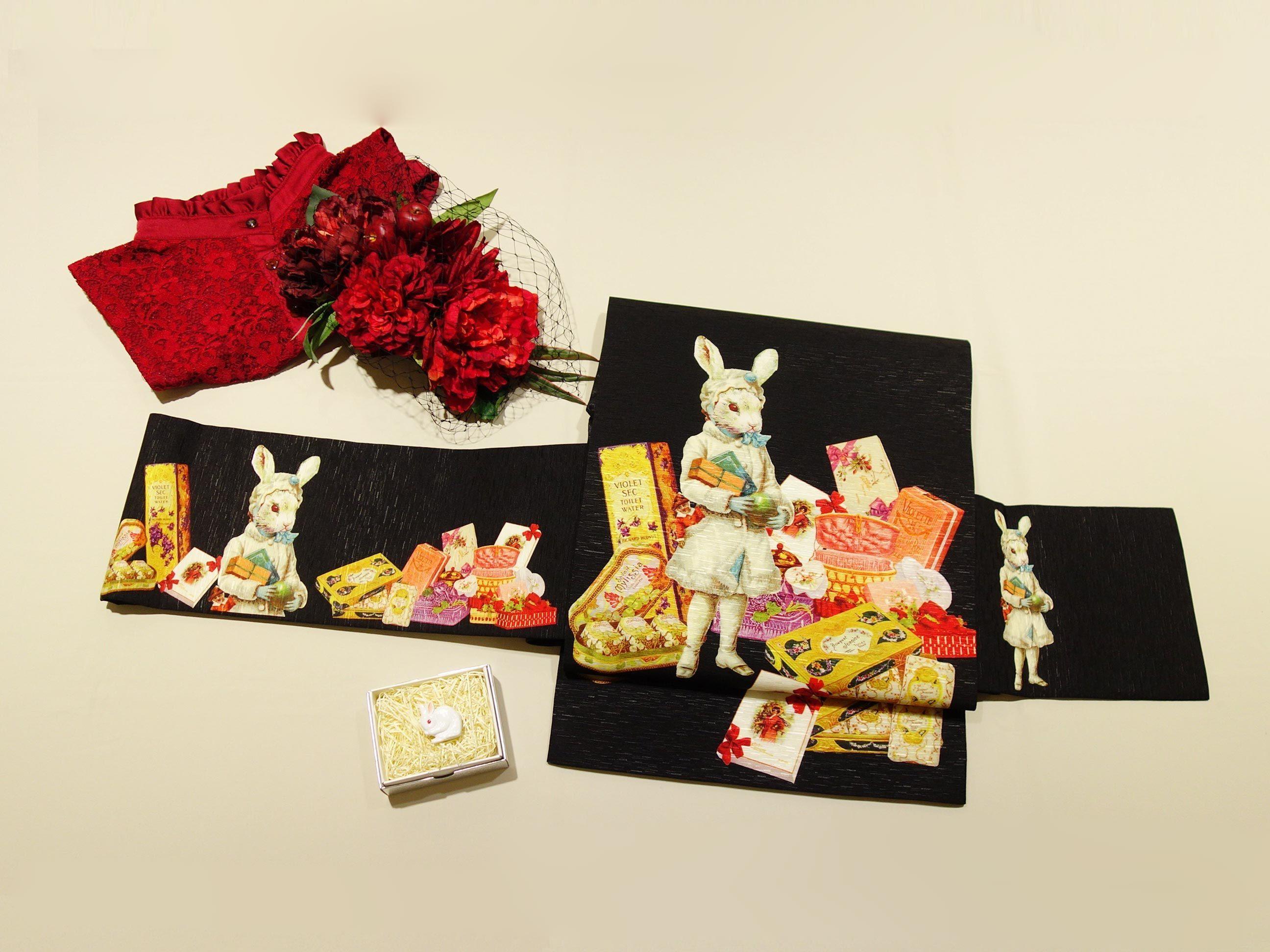 名古屋帯「プレゼント・ラヴィ」・「トランプ」再入荷です♪_e0167832_20303663.jpg