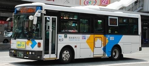 熊本市交通局・熊本都市バスの富士8E架装車_e0030537_23053050.jpg