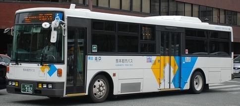 熊本市交通局・熊本都市バスの富士8E架装車_e0030537_23053082.jpg